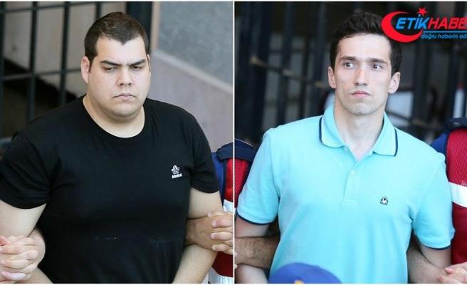 Tutuklu 2 Yunan askeri için karar