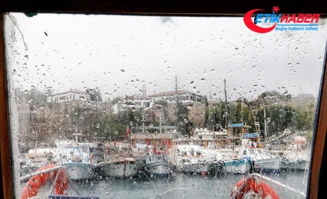 Üç il için kuvvetli yağış uyarısı