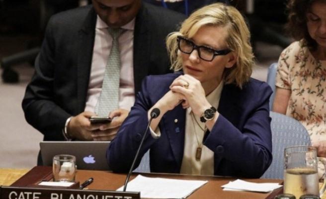 Ünlü oyuncu Blanchett, Myanmar zulmünü BMGK'ya taşıdı