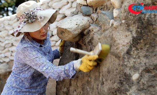 Yumuktepe Höyüğü'ndeki sezon kazıları bereketli başladı