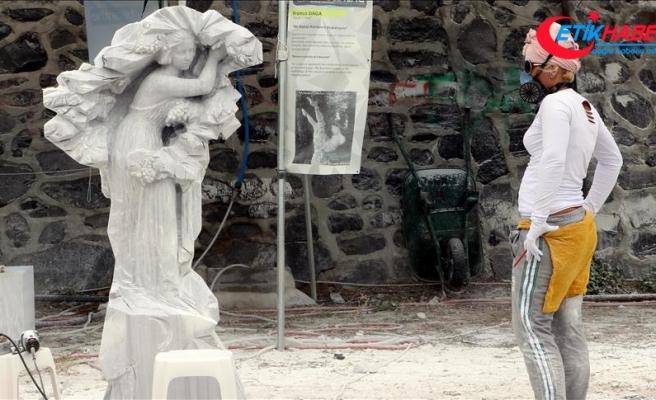 '4. Bisanthe Taş Heykel Sempozyumu' devam ediyor