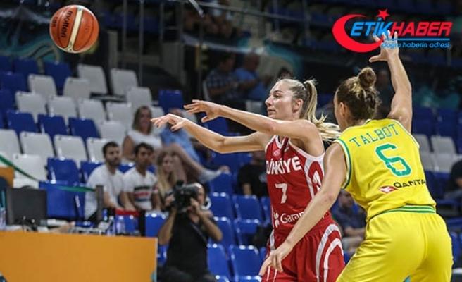 A Milli Kadın Basketbol Takımı, Avustralya'ya mağlup oldu