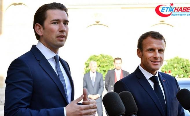 AB Dönem Başkanı Avusturya'nın Başbakanı Kurz: AB içinde çok fazla gerilim var
