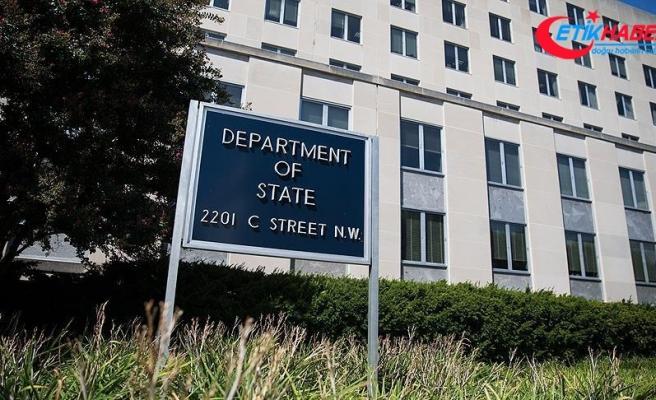 ABD Dışişleri Bakanlığı: Suriye'de şiddeti azaltacak her samimi çabayı memnuniyetle karşılıyoruz