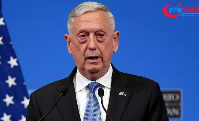 ABD Savunma Bakanı Mattis: Rusya, Makedonya'daki referandumu engellemeye çalışıyor