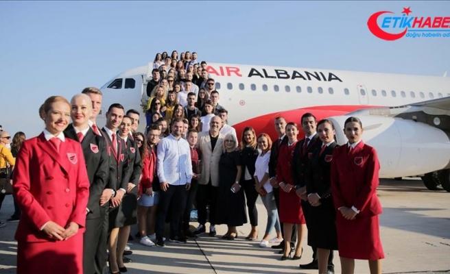 Air Albania ilk uçuşunu İstanbul'a gerçekleştirdi