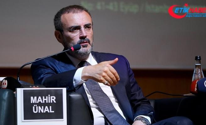 AK Parti Genel Başkan Yardımcısı Mahir Ünal: Gençler, rekabet etmek için kendinizi yetiştirmelisiniz