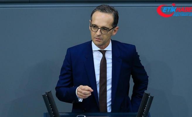 Almanya Dışişleri Bakanı Maas: Rusya'nın Suriye'de sorumluluk almasını bekliyoruz