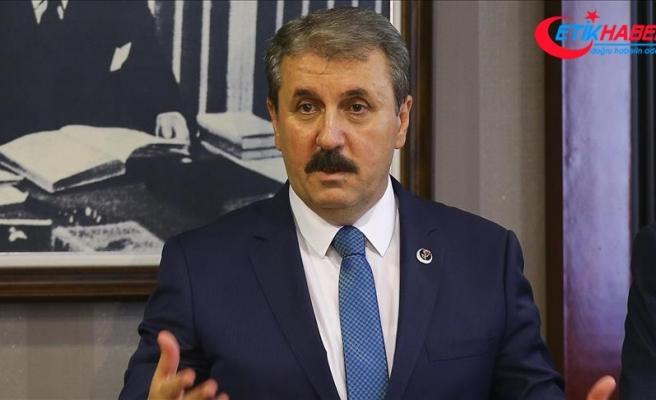 BBP Genel Başkanı Mustafa Destici: ABD Rıza Sarraf'a lüks bir hayat yaşatıyor