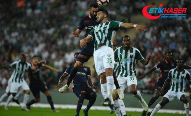 Bursaspor, Medipol Başakşehir maçı golsüz bitti