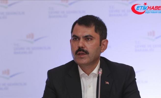 Çevre ve Şehircilik Bakanı Kurum: Kanal İstanbul bizim için en önemli proje