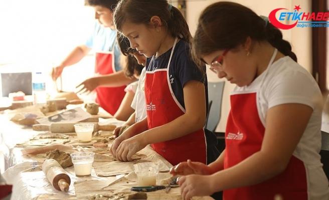 Çocuklar için sanat ve tasarım atölyesi yapılacak
