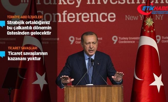 Cumhurbaşkanı Erdoğan: ABD ile stratejik ortaklığımız bu çalkantılı dönemin de üstesinden gelecektir