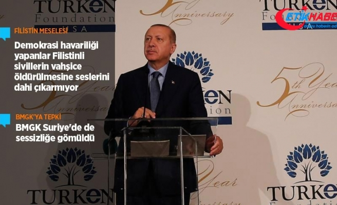 Cumhurbaşkanı Erdoğan: Fırat'ın doğusu için de adım atılacak