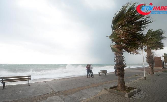 Ege'de tropik fırtınaya karşı önlemler alınıyor
