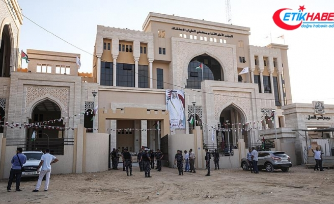Gazze'de, Katar'ın finanse ettiği Adalet Sarayı açıldı