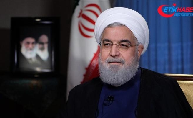 İran Cumhurbaşkanı Ruhani IMF Başkanı Lagarde ile görüştü