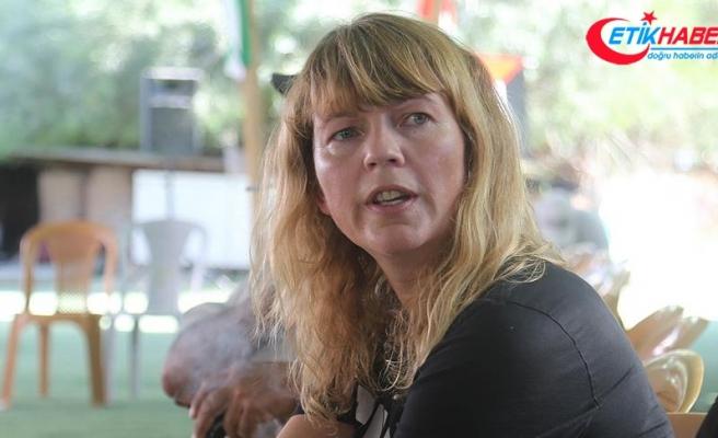 İsrail'in plastik mermileri Norveçli aktivisti yolundan döndüremedi