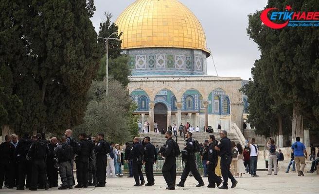 'İsrail Mescid-i Aksa'da hakimiyet kurmaya çalışıyor'