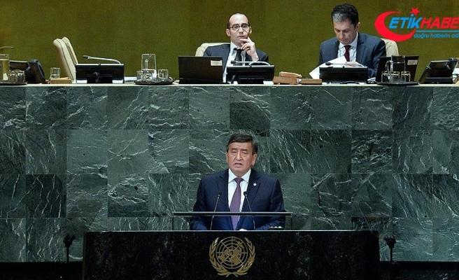 Kırgızistan'dan 'BM'de reform' çağrısı