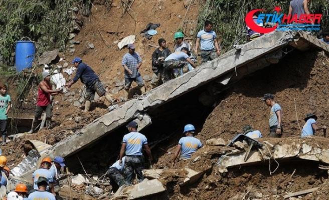 Mangkhut tayfunu Filipinler'de 74 can aldı