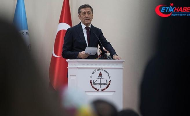 Milli Eğitim Bakanı Selçuk: Milli Eğitim ülkemizin değişim ve dönüşümünün lokomotifi