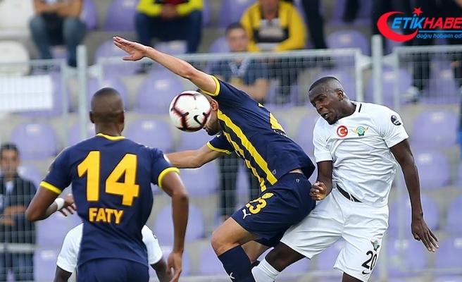 MKE Ankaragücü tek golle kazandı