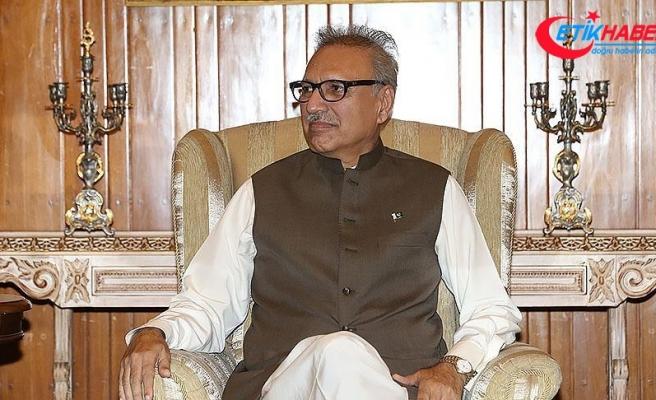 Pakistan Cumhurbaşkanı Alvi: Pakistan-Türkiye ilişkileri bölge barışı açısından hayati