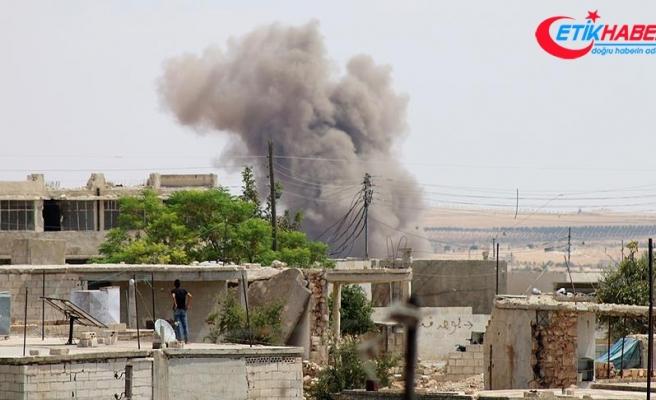 Rejim ve destekçileri İdlib'e saldırmaya devam ediyor