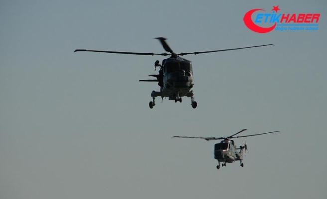 Suudi Arabistan'da askeri helikopter düştü: ABD'li pilot öldü