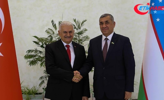 TBMM Başkanı Yıldırım Özbekistan'da