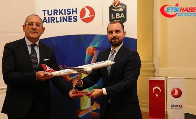 THY, İtalya Basketbol Ligi'nin resmi hava yolu sponsoru oldu