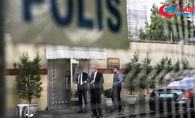 Arabistan'ın İstanbul Başkonsolosluğu önündeki bekleyiş sürüyor