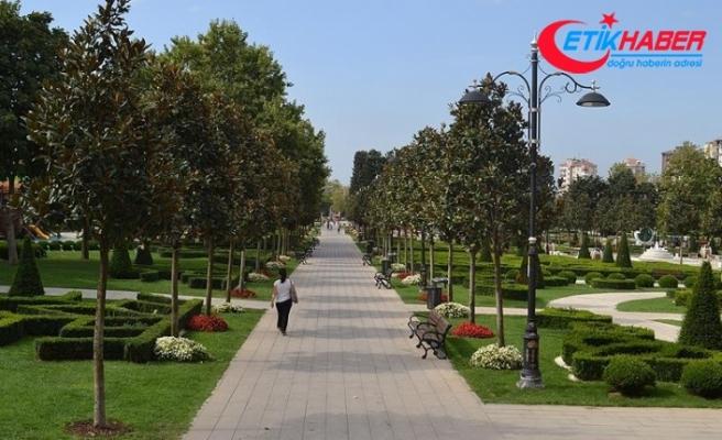 Bakırköy'deki TOKİ Millet Bahçesinde çalışmalar başladı