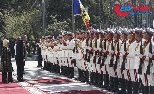 Cumhurbaşkanı Erdoğan Moldova'da