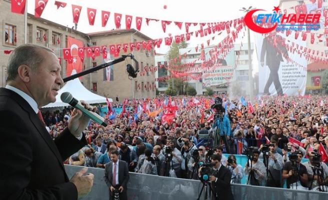 Cumhurbaşkanı Erdoğan: Münbiç'e de gidilecek