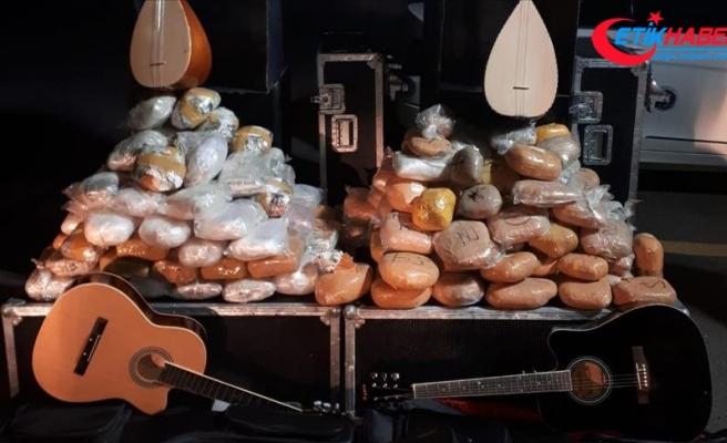 Diyarbakır'da bir ayda 1 ton 863 kilo 763 gram esrar ele geçirildi