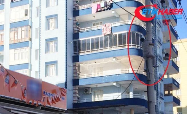 Diyarbakır'da kaçak elektrik kullanımına suçüstü