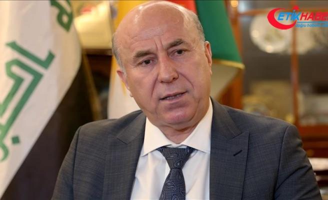 Erbil Valisi Nevzad Hadi: Projelerimiz Türk şirketleri tarafından hayata geçirildi