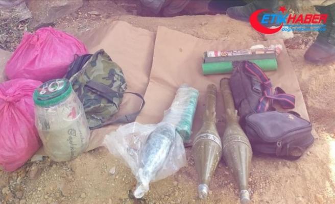 Erciş'te PKK'lı teröristlerce gizlenmiş mühimmat ele geçirildi
