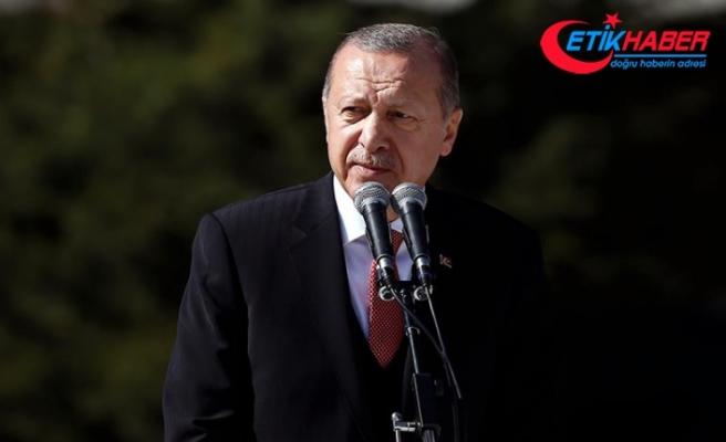 Erdoğan: Fırat'ın doğusundaki terör yuvalarını darmadağın edeceğiz