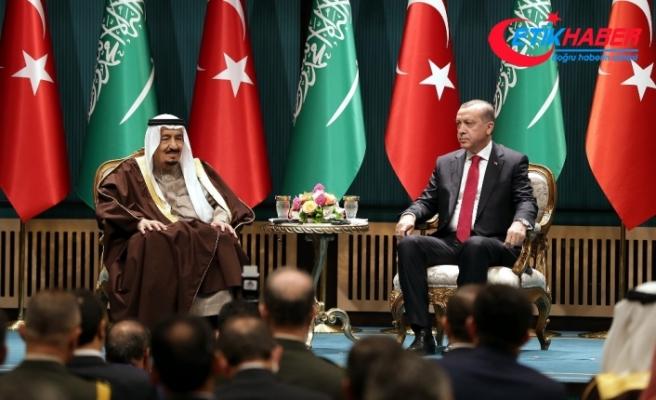 Erdoğan, Kral Selman ile telefonla görüştü