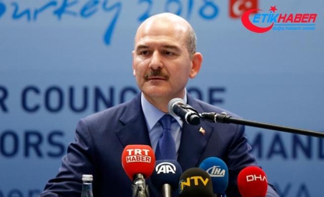 İçişleri Bakanı Soylu: DEAŞ uçak yapmaya bile çalışmış
