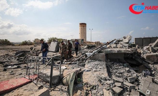 İsrail Gazze'de 20 hedefi vurdu