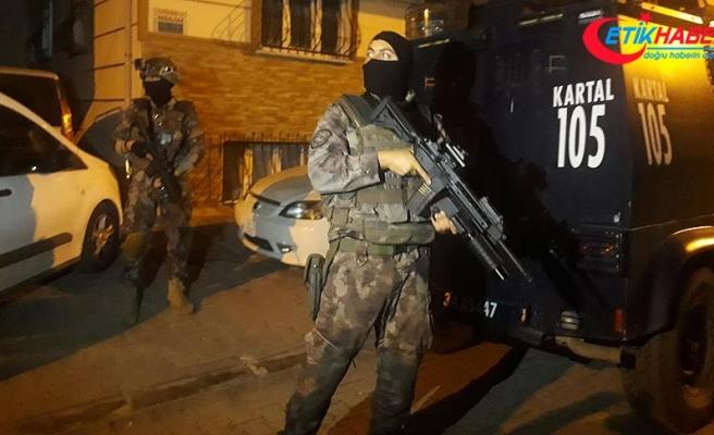 İstanbul'un 6 ilçesinde uyuşturucu operasyonu