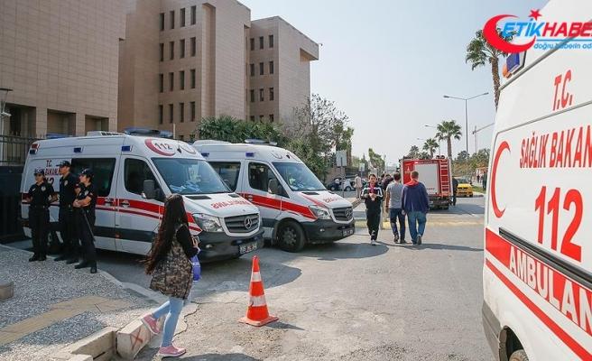 İzmir Adliyesindeki gaz sızıntısından etkilenen bir kişi hayatını kaybetti
