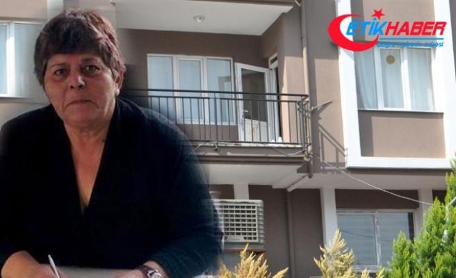 Memur emeklisi kadın, balkonda bıçaklanarak öldürüldü