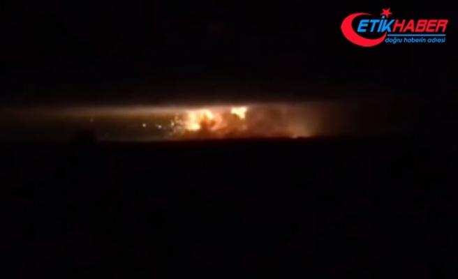 Mühimmat deposunda patlama: 10 bin kişi tahliye dildi