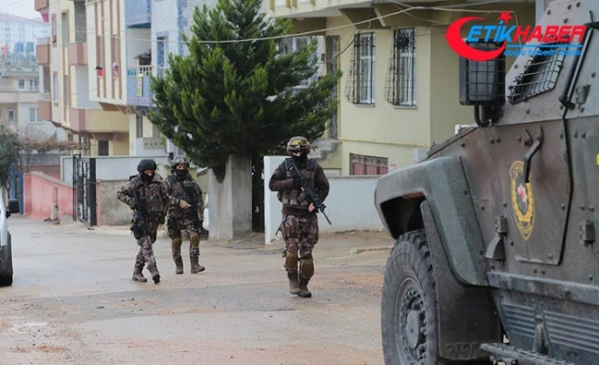 Şanlıurfa'da PKK'ya yönelik operasyonda eylem hazırlığındaki 13 şüpheli yakalandı