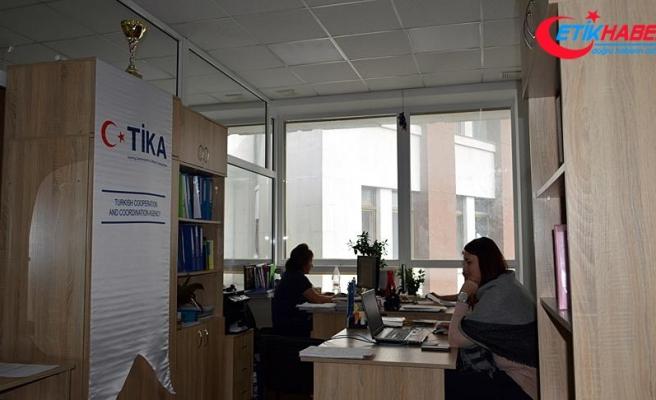 TİKA'dan Ukrayna'da sosyal hizmetlere destek